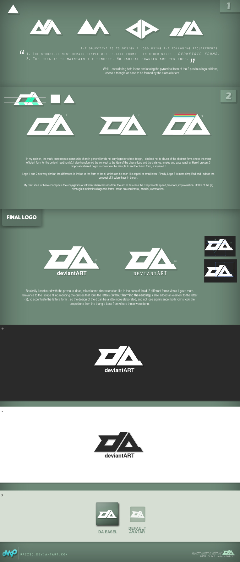 . da Logo -Step by Step- by Raczso