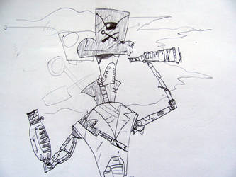 Early Robot Pirate