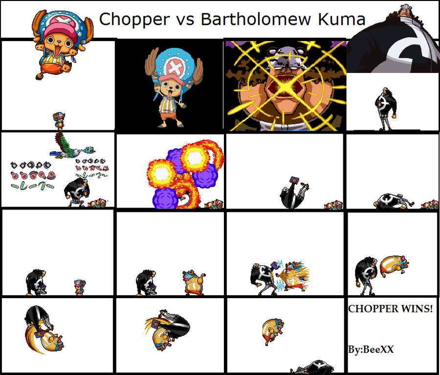 ALTERNATIVE ENDING:Time Skip Chopper vs Kuma by BeeXX on ...