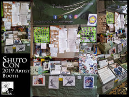 Shuto Con 2019 Artist Booth Photos