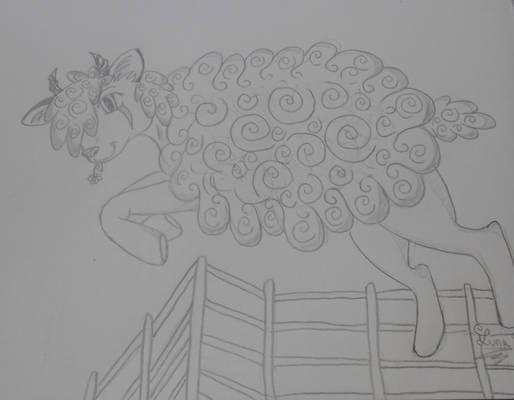 Dessine moi un mouton. (Draw me a sheep)