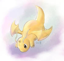 Dragonite by Swadloon