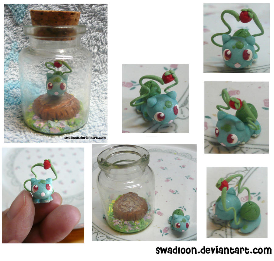 Bulbasaur In a Bottle by Swadloon