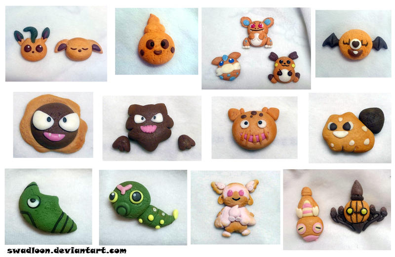 Clay Cookies by Swadloon