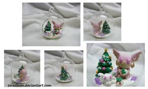 Christmas Ornament - Mega Audino