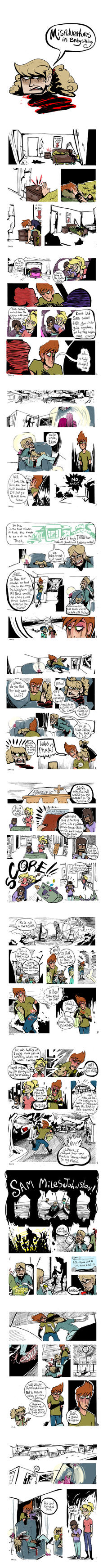 Misadventures in Babysitting by jocosejoni