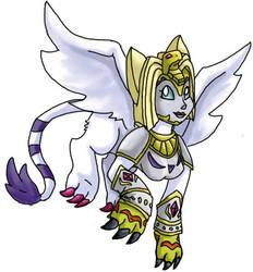 Nefertimon, the Angel of Light by MyFantasyZone