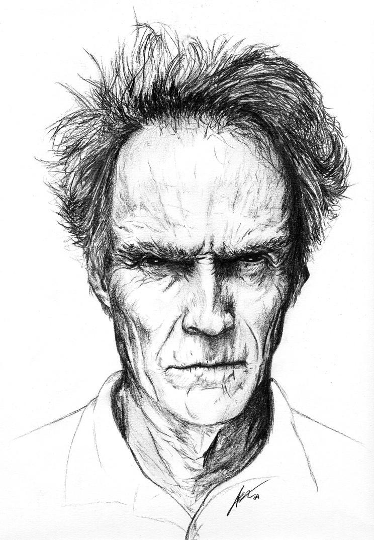 Clint Eastwood by PhantomxLord