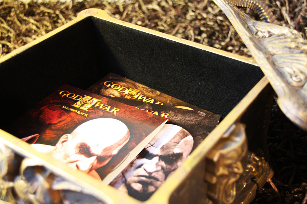 God of War III Pandora Box 11 by PhantomxLord