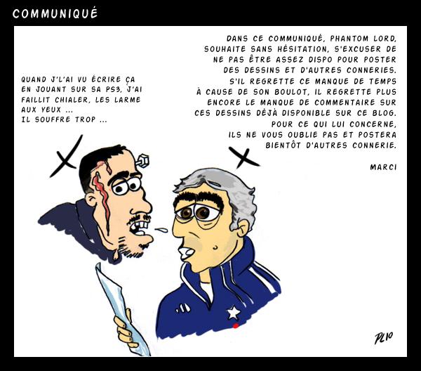 Communique by PhantomxLord