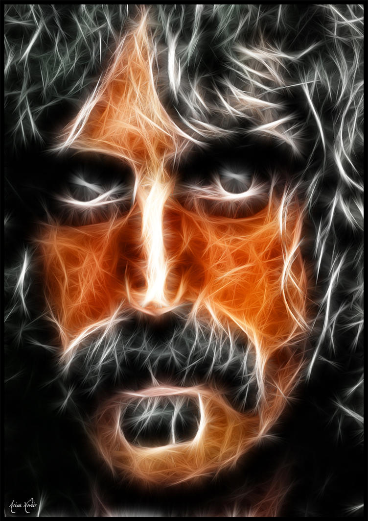 Frank Zappa Fractal by PhantomxLord