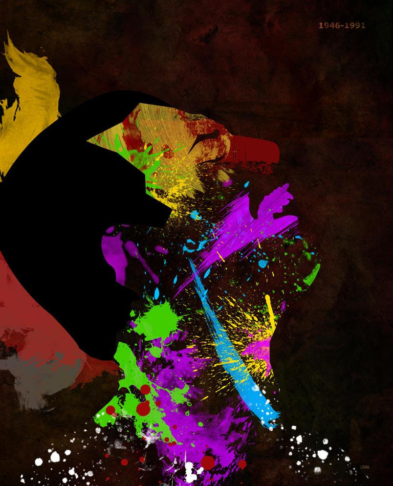 Freddie Mercury 65th birthday by PhantomxLord