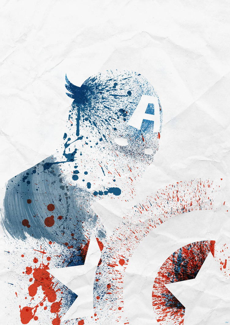 Captain America by PhantomxLord