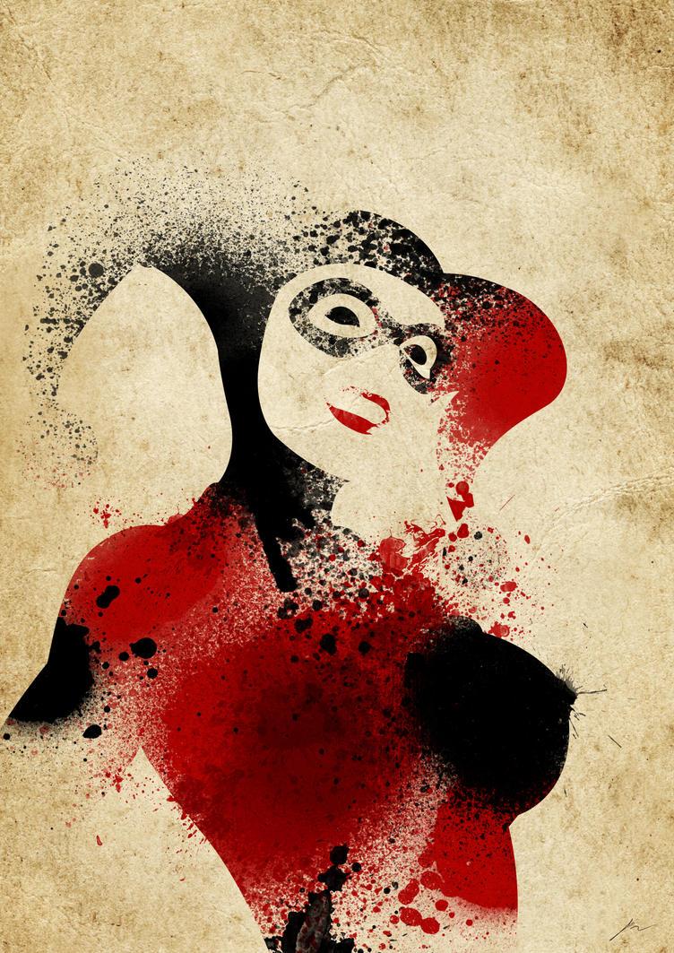 Paint Splatter Villains: Sweet Insanity by PhantomxLord