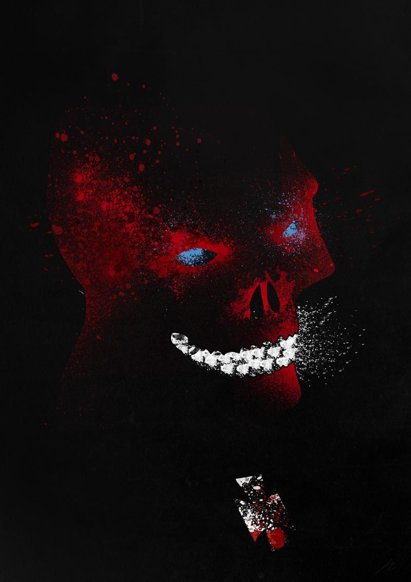 paint splatter villains: the red devilarian-noveir on deviantart