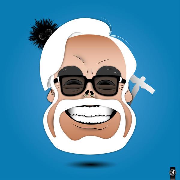 Domo Arigato Hayao Miyazaki color version by PhantomxLord