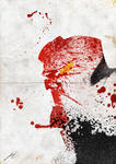 Paint Splatter: Hellboy