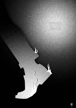 Upside Down minimal poster