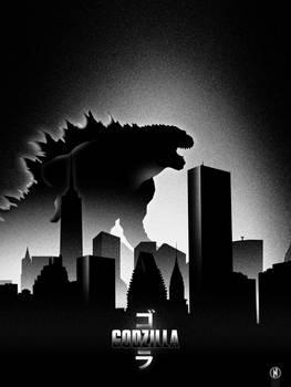 Godzilla minimal poster