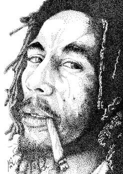Indian Ink Dots: Mister Marley