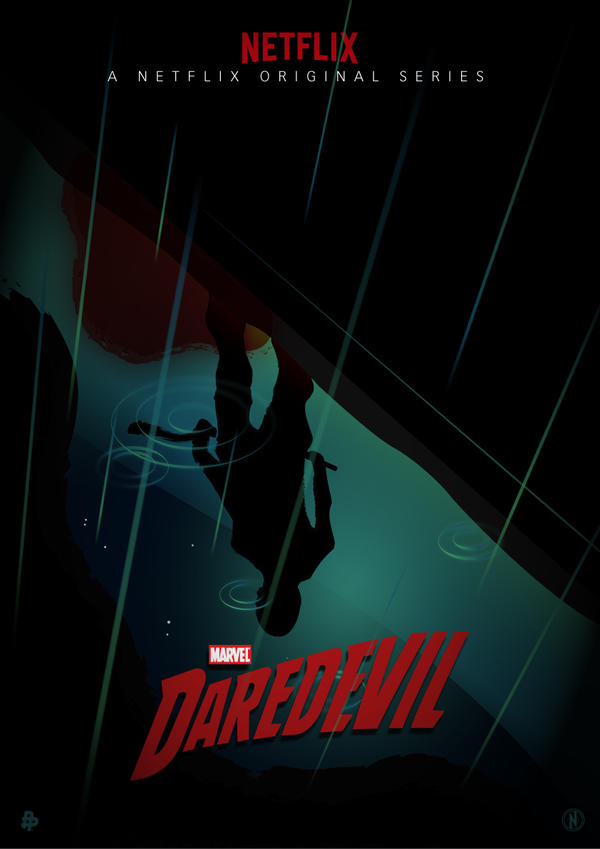 Daredevil - A Poster Posse Project by PhantomxLord