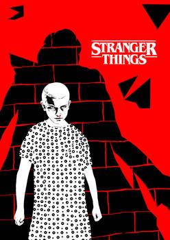 011 - my Stranger Things tribute (variant Red)