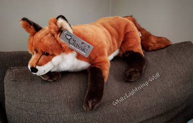Animal Alley Classics Red Fox Plush by WhiteLightning-Wolf