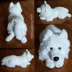 18in Anee Park White Husky