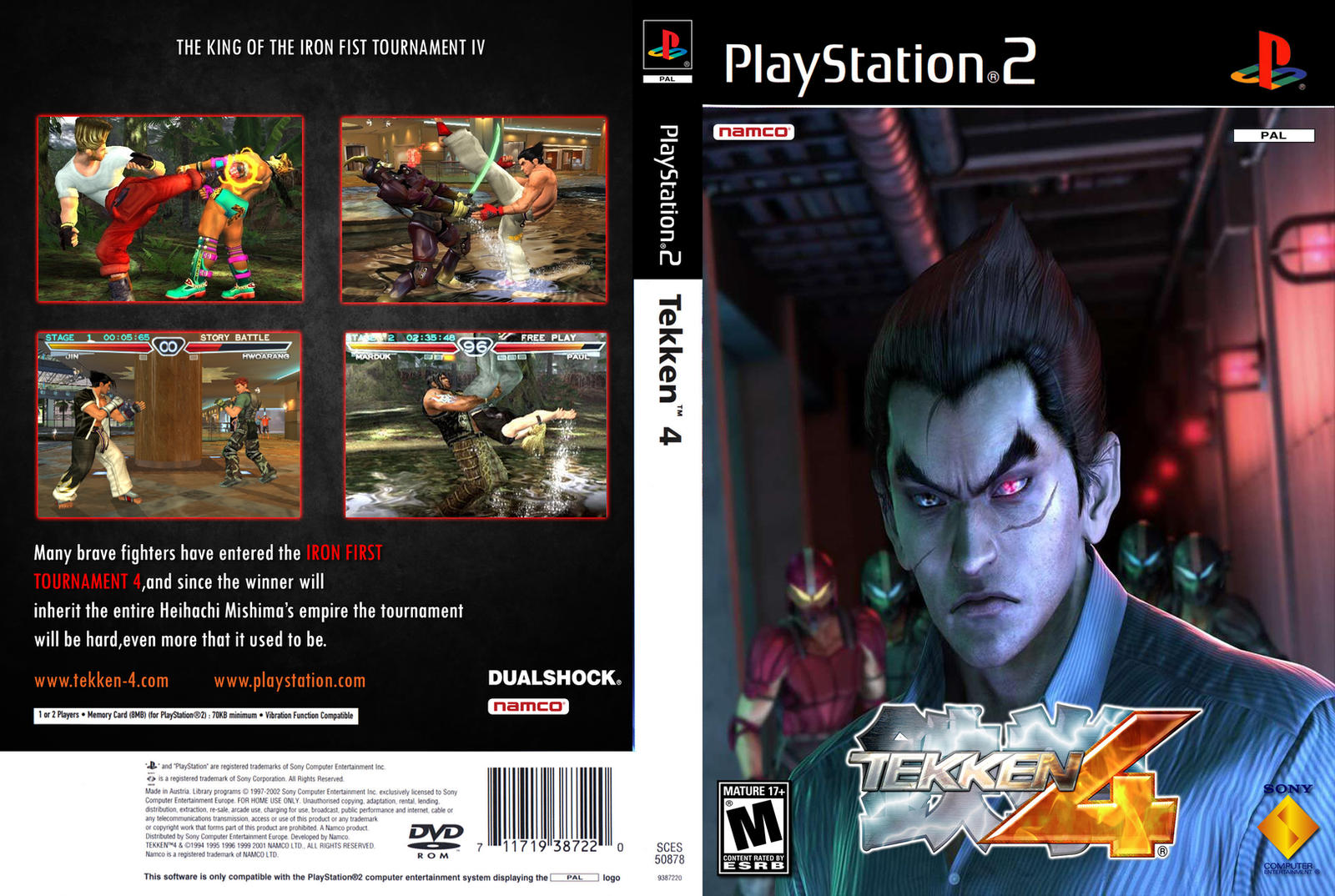 Tekken 4 Ps2 Iso Pal