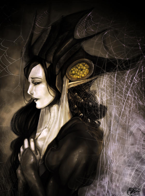 Dark, Beautiful, Morbid Things Spider_queen_by_chess_ter-d5cyxch
