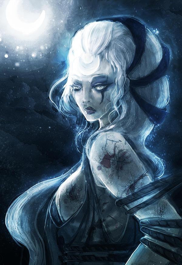 Galeria de Arte: Ficção & Fantasia 1 Diana_scorn_of_the_moon_by_chess_ter-d5f54ph