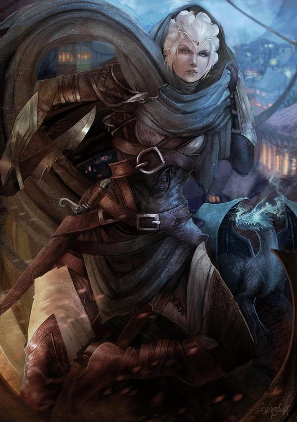 Galeria de Arte: Ficção & Fantasia 1 - Página 6 Commission__isabelle_dungeons_and_dragons_by_skyzocat-d6zm5nw
