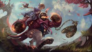 Annie in Wonderland - Polycount Riot Art Contest