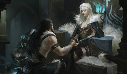 The proposal - Ashe and Tryndamere