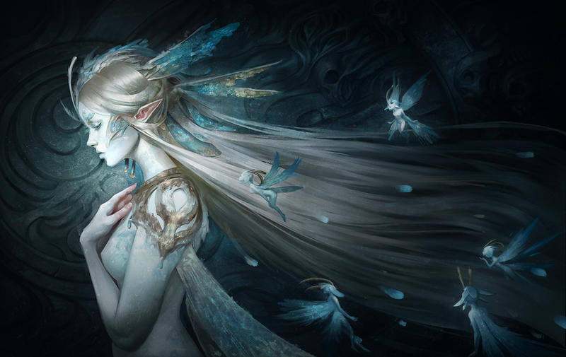 Fairy Queen - Cover Art by Skyzocat