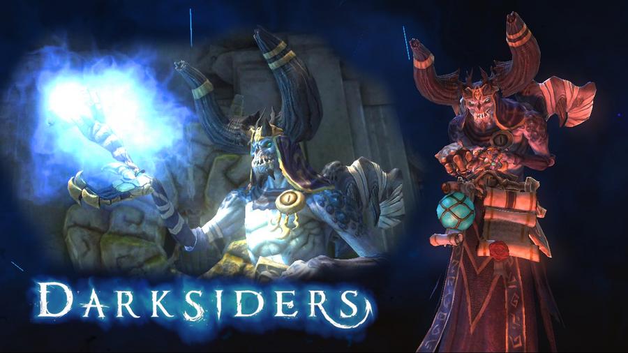 Darksiders Vulgrim wallpaper by fearmaker782 on DeviantArt  Darksiders Vulg...