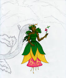 Dryad - WIP by fearmaker782