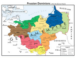 Prussian Dominions by WewLad11