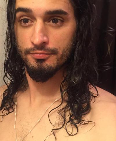 Hairs getting longer finally showing curls  stren by MTDrive