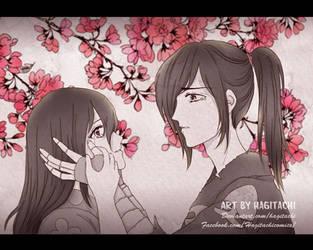[Fanart] HyakkimaruxMio by Hagitachi