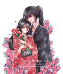 [Fanart] [HyakkimaruxMio] Flowers by Hagitachi
