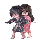 [Fanart] [HyakkimaruxMio] Don't worry