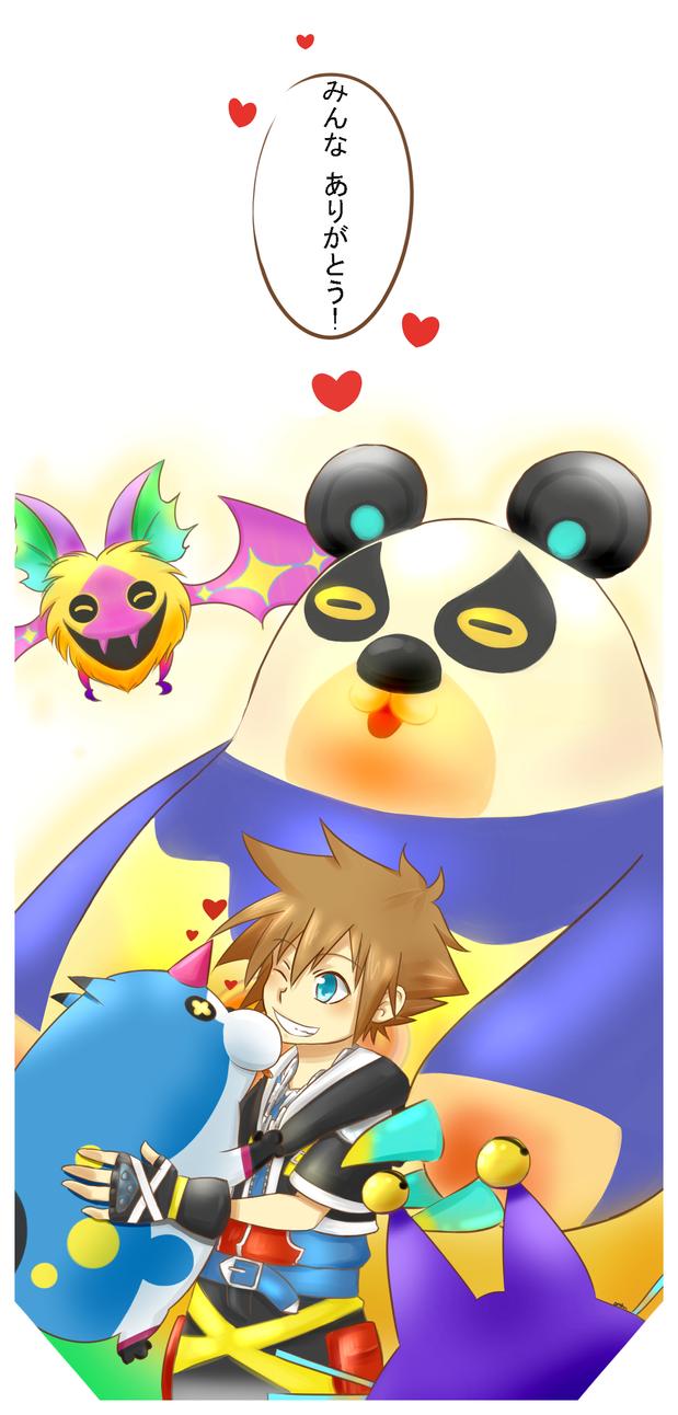 KH: Everyone, THANK YOU!! by KENZICHII