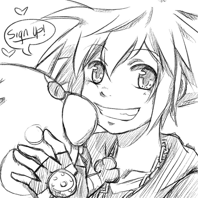 Kingdom Hearts Artbook Project! by KENZICHII
