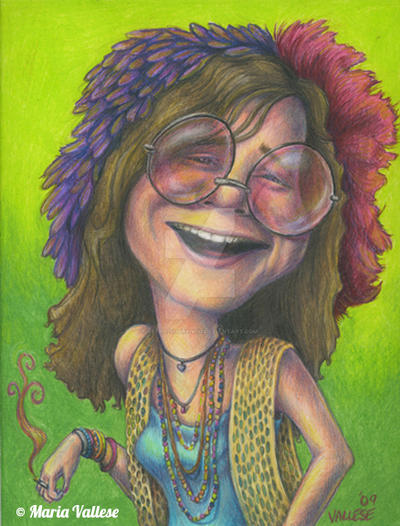 Janis Joplin by Retro-Sorrento