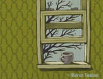 Coffee at the Window Sill