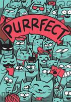 Purrfect by SkullShrooms