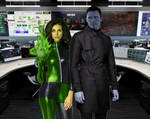 Live Action Drakken and Shego