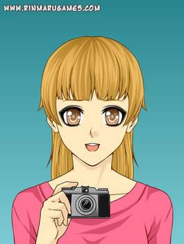 Holly Rivers as a Anime Avatar
