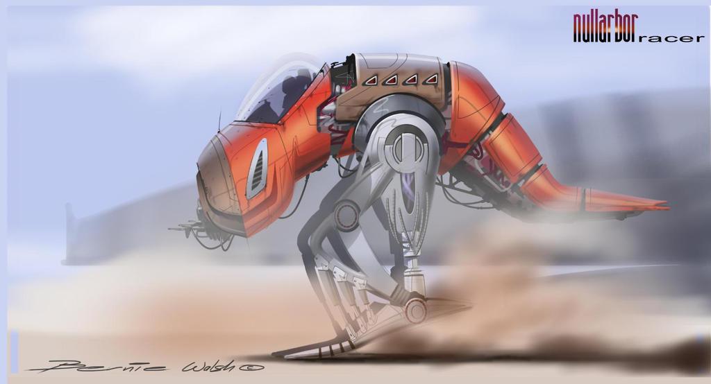 Nullarbor roo Racer by berniewalsh